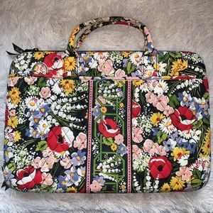 Vera Bradley Quilted Laptop Bag Hard Shell